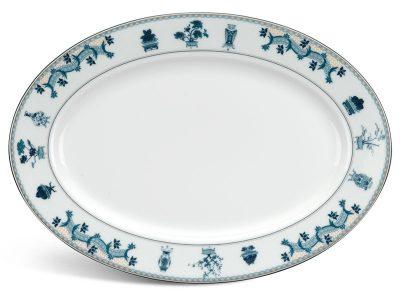 Dĩa oval 32 cm - Jasmine - Tứ Quý