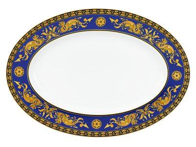 Dĩa oval 37 cm - Hoàng Cung - Cẩm Tú