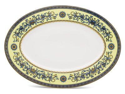 Dĩa oval 37 cm - Hoàng Cung - Hoàng Liên