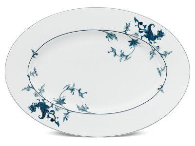 Dĩa oval 37 cm - Hoàng Cung - Lạc Hồng