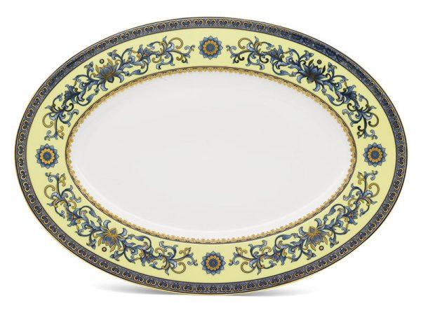 Dĩa oval 42 cm - Hoàng Cung - Hoàng Liên
