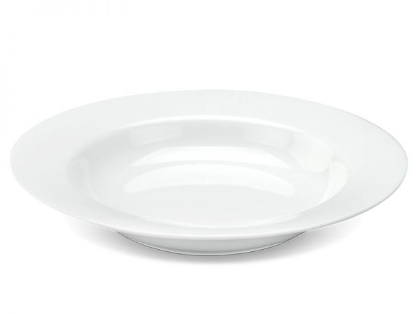 Dĩa súp 20 cm - Camellia - Trắng