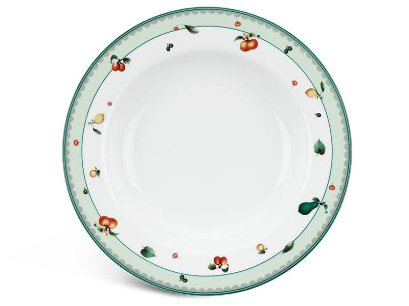 Dĩa súp 23 cm - Camellia - Quả Ngọt