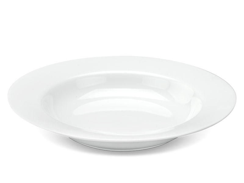 Dĩa súp 23 cm - Camellia - Trắng