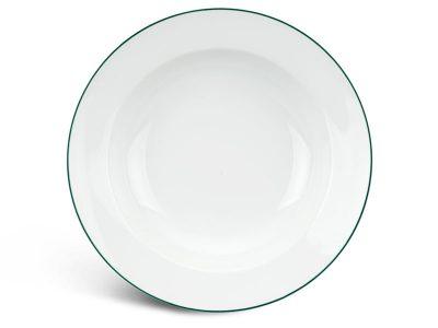 Dĩa súp 23 cm - Jasmine - Chỉ Xanh Lá