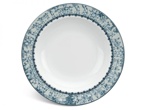 Dĩa súp 23 cm - Jasmine - Vinh Quy Nhạt