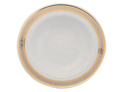 Dĩa súp 23 cm - Sago - Hoa Hồng