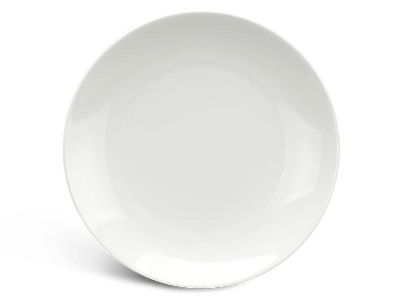Dĩa tròn ảo 18 cm - Daisy Ly's - Trắng Ngà