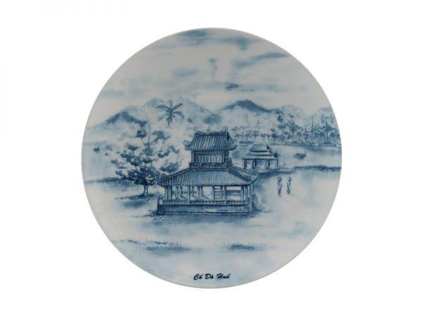 Dĩa tròn ảo 22 cm - Daisy - Cố Đô Huế