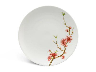 Dĩa tròn ảo 22 cm - Daisy IFP - Hồng Đào