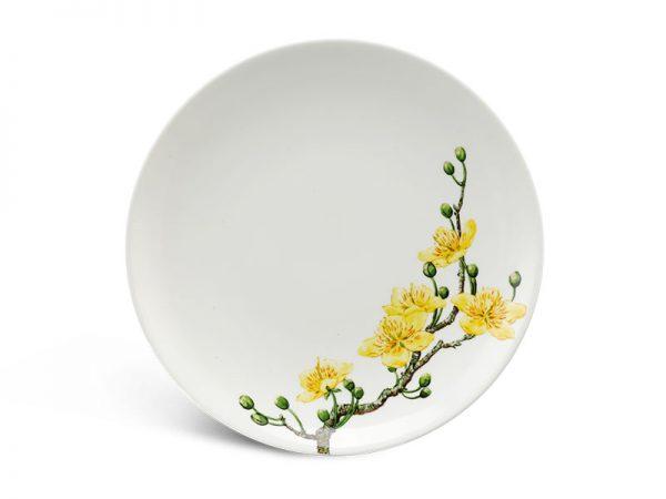 Dĩa tròn ảo 22 cm - Daisy IFP - Hoàng Mai