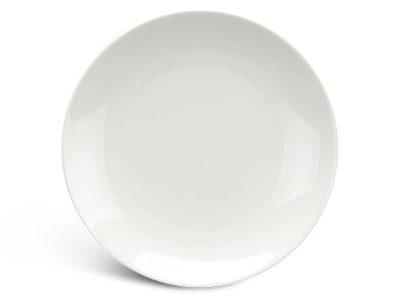 Dĩa tròn ảo 22 cm - Daisy Ly's - Trắng Ngà