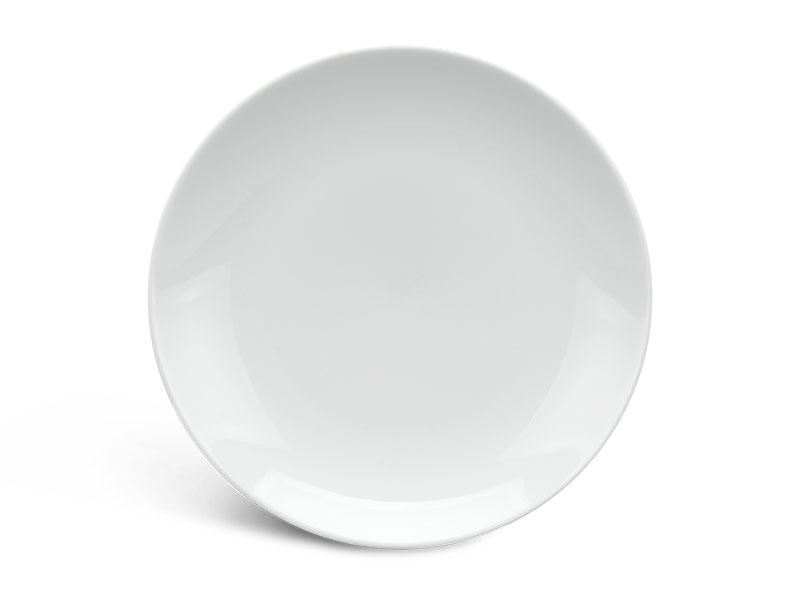 Dĩa tròn ảo 22 cm - Daisy - Trắng