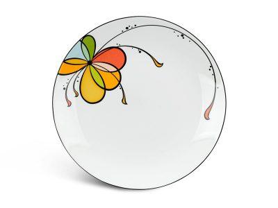 Dĩa tròn ảo 26 cm - Daisy - Bóng Bay
