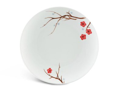 Dĩa tròn ảo 26 cm - Daisy - Hồng Mai
