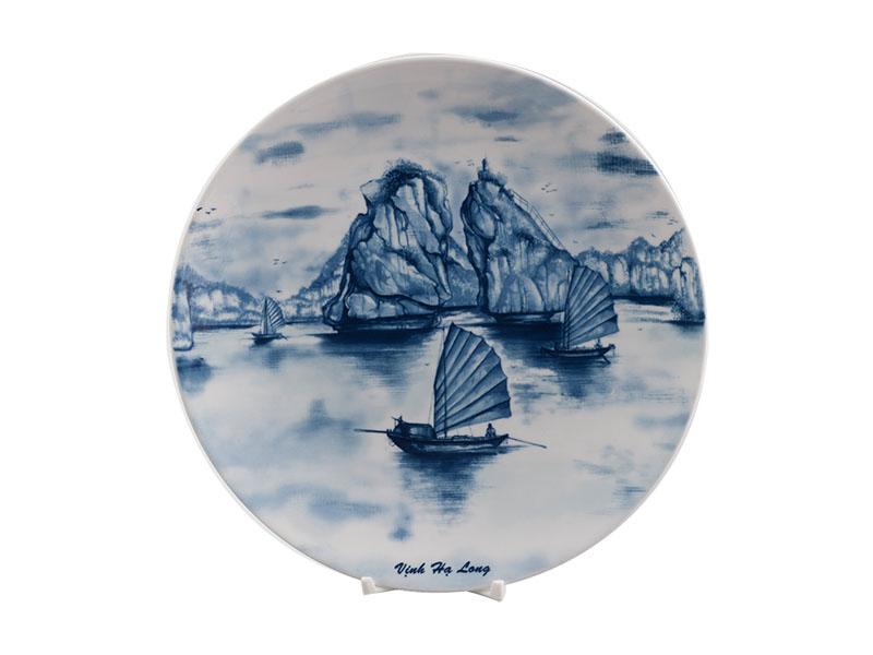 Dĩa tròn ảo 26 cm - Daisy - Vịnh Hạ Long
