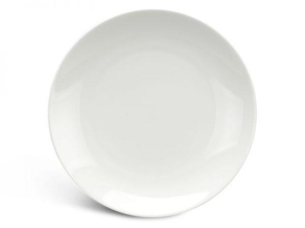 Dĩa tròn ảo 28 cm - Daisy Ly's - Trắng Ngà