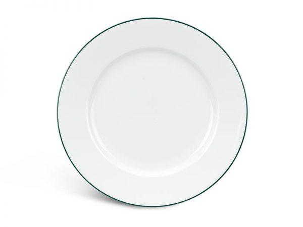 Dĩa tròn 18 cm - Jasmine - Chỉ Xanh Lá