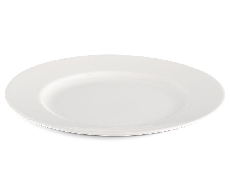 Dĩa tròn 18 cm - Jasmine Ly's - Trắng Ngà