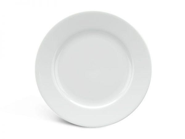 Dĩa tròn 18 cm - Jasmine - Trắng