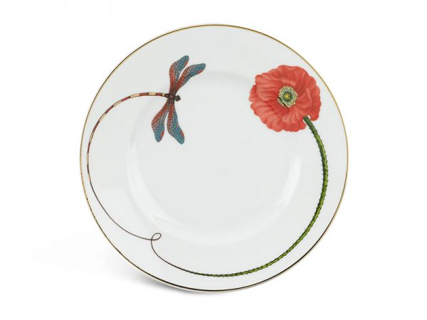 Dĩa tròn 20 cm - Camellia - Kết Duyên