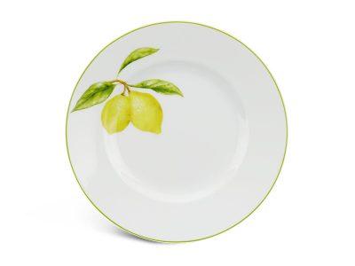 Dĩa tròn 20 cm - Camellia - Quả Chanh