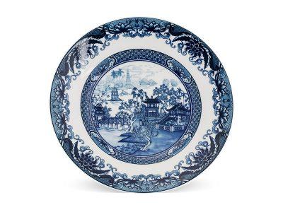 Dĩa tròn 20 cm - Hoàng Cung - Hồn Việt