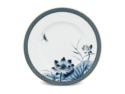 Dĩa tròn 20 cm - Hoàng Cung - Sen Vàng