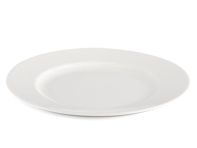 Dĩa tròn 20 cm - Jasmine Ly's - Trắng Ngà
