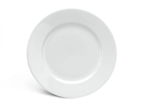 Dĩa tròn 20 cm - Jasmine - Trắng
