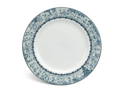 Dĩa tròn 20 cm - Jasmine - Vinh Quy Nhạt