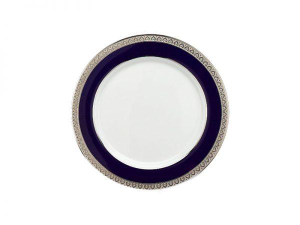 Dĩa tròn 20 cm - Sago - Thiên Tuế Xanh khắc nổi