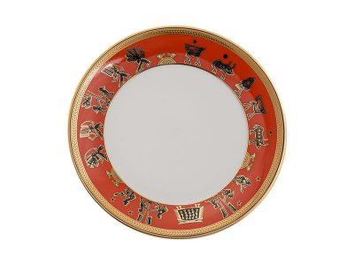 Dĩa tròn 20 cm - Tulip Trắng - Trống Đồng 3
