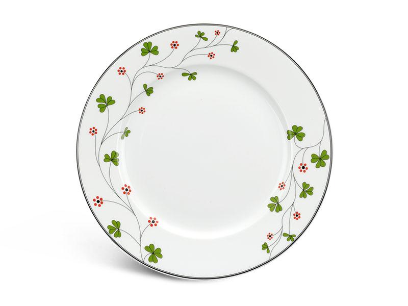 Dĩa tròn 22 cm - Jasmine - Hoa May Mắn