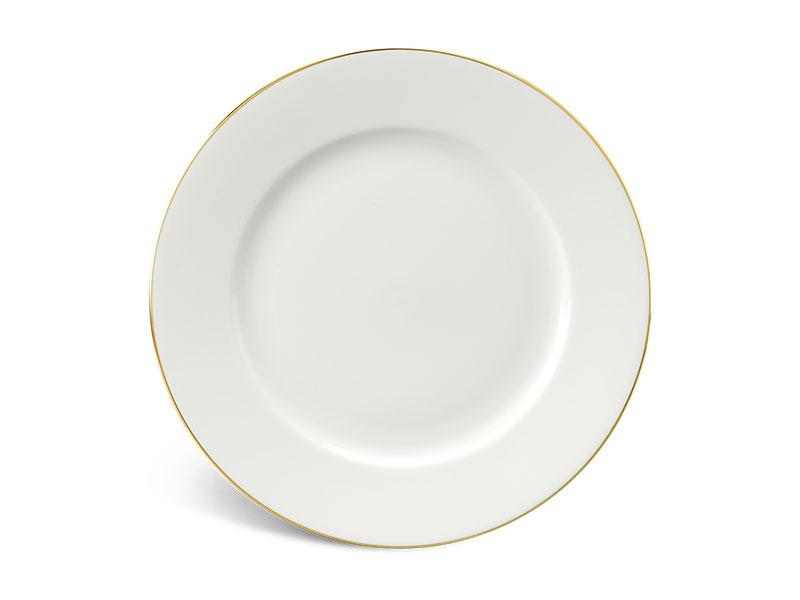 Dĩa tròn 22 cm - Jasmine IFP - Chỉ Vàng