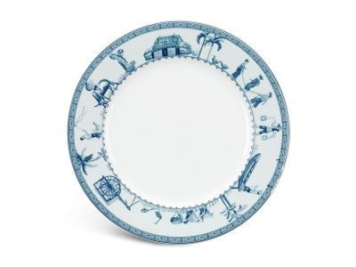 Dĩa tròn 22 cm - Jasmine - Thôn Dã