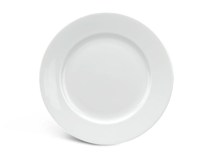 Dĩa tròn 22 cm - Jasmine - Trắng