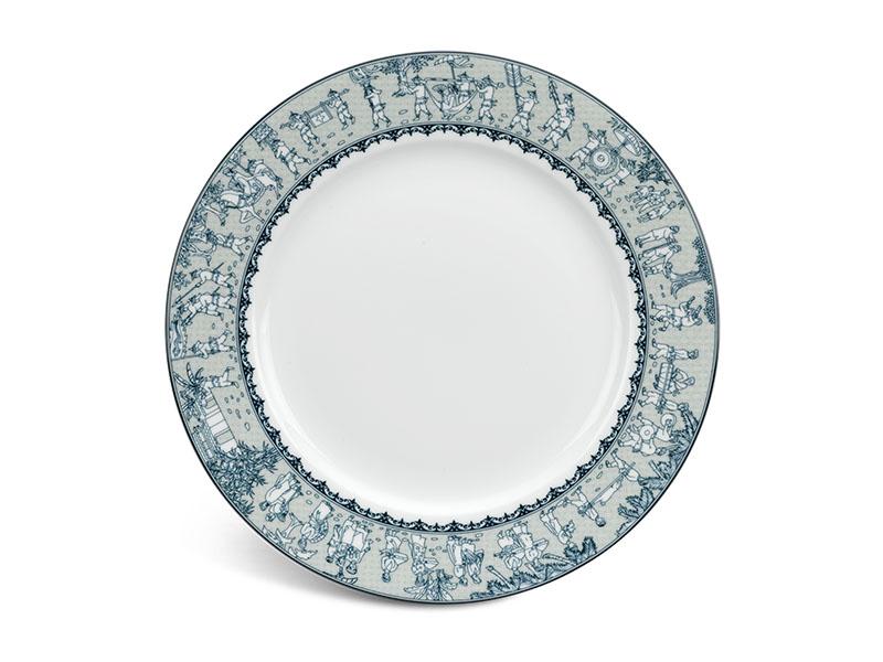 Dĩa tròn 22 cm - Jasmine - Vinh Quy Nhạt