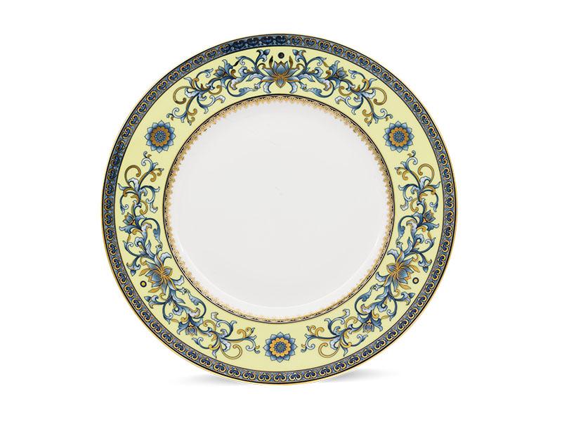 Dĩa tròn 25 cm - Hoàng Cung - Hoàng Liên