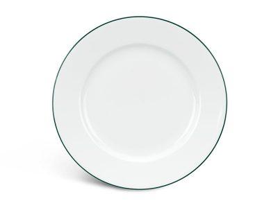 Dĩa tròn 25 cm - Jasmine - Chỉ Xanh Lá