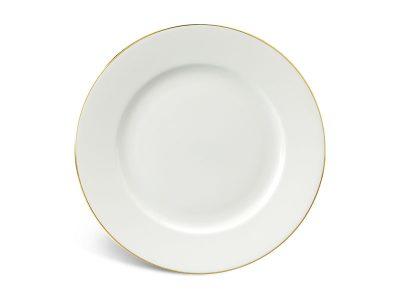 Dĩa tròn 25 cm - Jasmine IFP - Chỉ Vàng