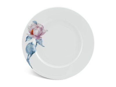 Đĩa tròn 25 cm - Jasmine IFP - Trà Mi