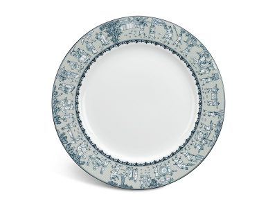 Dĩa tròn 25 cm - Jasmine - Vinh Quy Nhạt