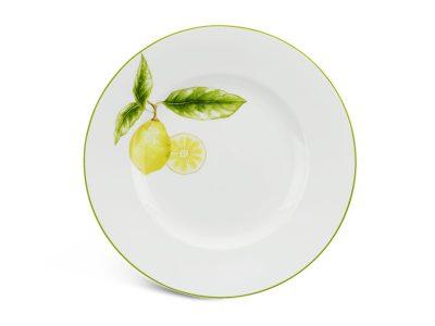 Dĩa tròn 27 cm - Camellia - Quả Chanh