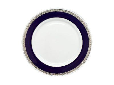 Dĩa tròn 27 cm - Sago - Thiên Tuế Xanh khắc nổi