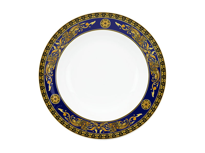 Dĩa tròn 28 cm - Hoàng Cung - Cẩm Tú