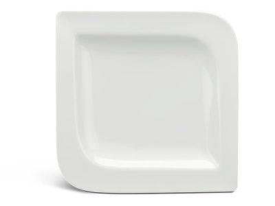 Dĩa vuông 22.5 cm - Anh Vũ Ly's - Trắng Ngà