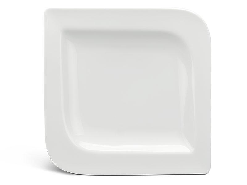 Dĩa vuông 27.5 cm - Anh Vũ Ly's - Trắng Ngà