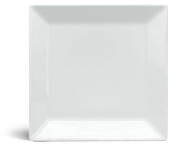 Dĩa vuông lá 16 cm - Daisy - Trắng