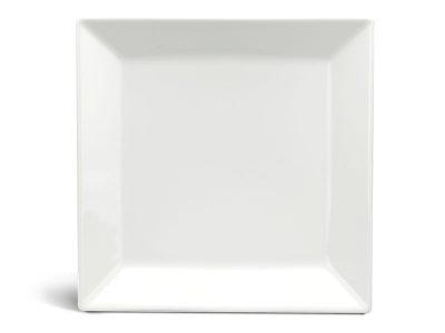 Dĩa vuông lá 27 cm - Daisy Lys - Trắng Ngà